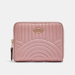 COACH | Pink Leather Small Wallet NWT